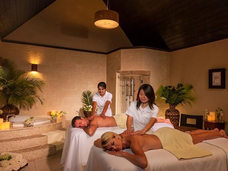 Red Lane® Spa de l'hôtel 4 étoiles Sandals Grande Antigua