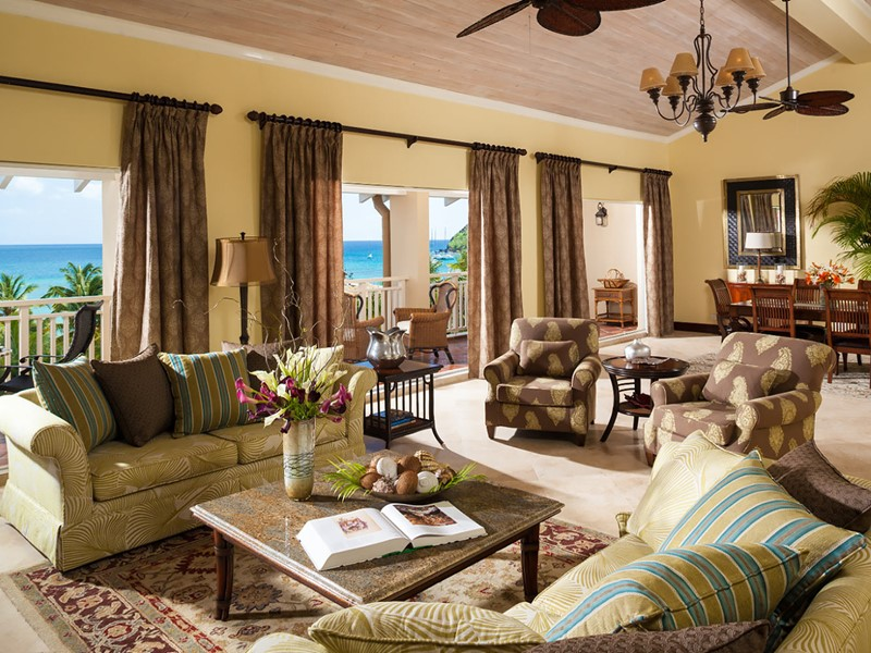 President Clinton Oceanfront Penthouse Two Storey Butler Suite du Sandals