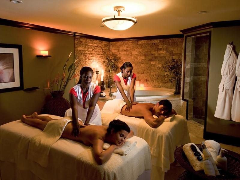 Le spa de l'hôtel 5 étoiles Sandals Grande St. Lucian