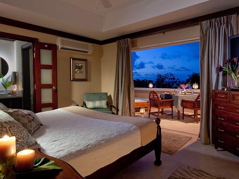 Pitons Oceanview Room du Sandals Regency La Toc