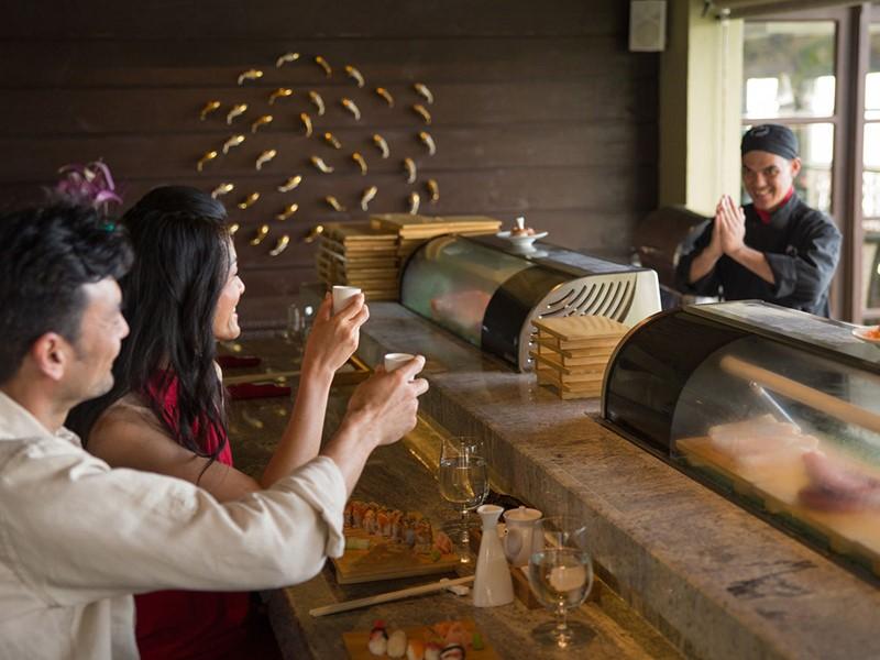 Le Soy Suchi Bar sert les meilleurs sushis de Sainte Lucie