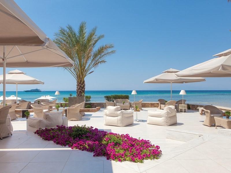 Le restaurant Ammos du Sani Beach à Halkidiki