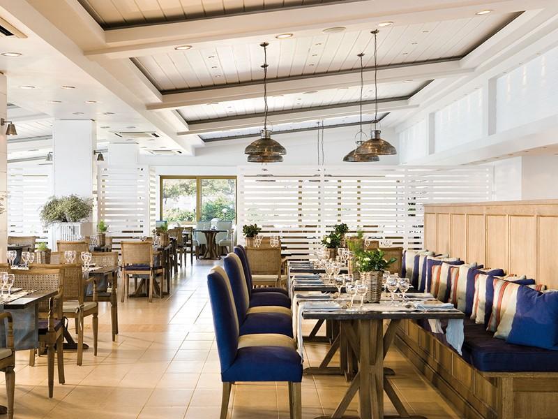 Le restaurant Olympos du Sani Club à Halkidiki