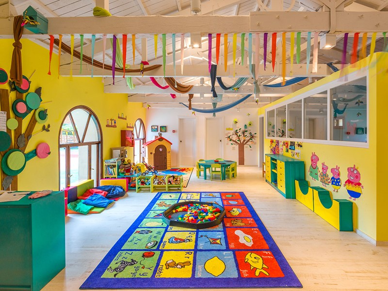 Le mini-club du Sani Club accueille les enfants et leur propose de nombreuses activités