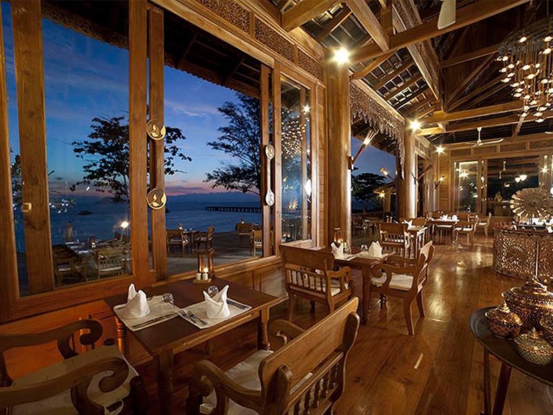 Restaurant Chantara du Santhiya Koh Yao Yai Resort à Phuket