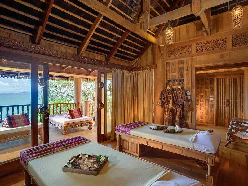 Le spa de l'hôtel 5 étoiles Santhiya Koh Yao Yai Resort & Spa