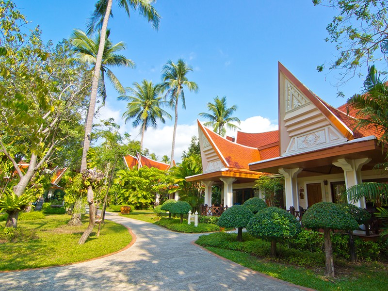 Le Santhiya offre un cadre idyllique et un environnement luxuriant