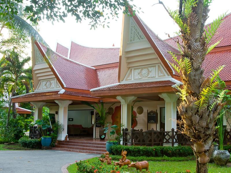 Le lobby du Santhiya Tree, la meilleure adresse de l'île de Koh Chang