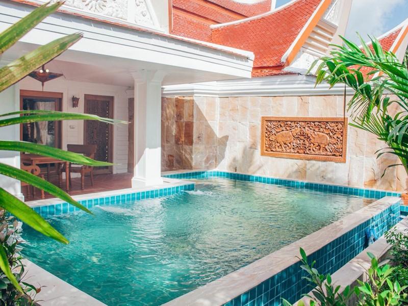 La piscine de la Hideaway Pool Villa du Santhiya Tree Koh Chang