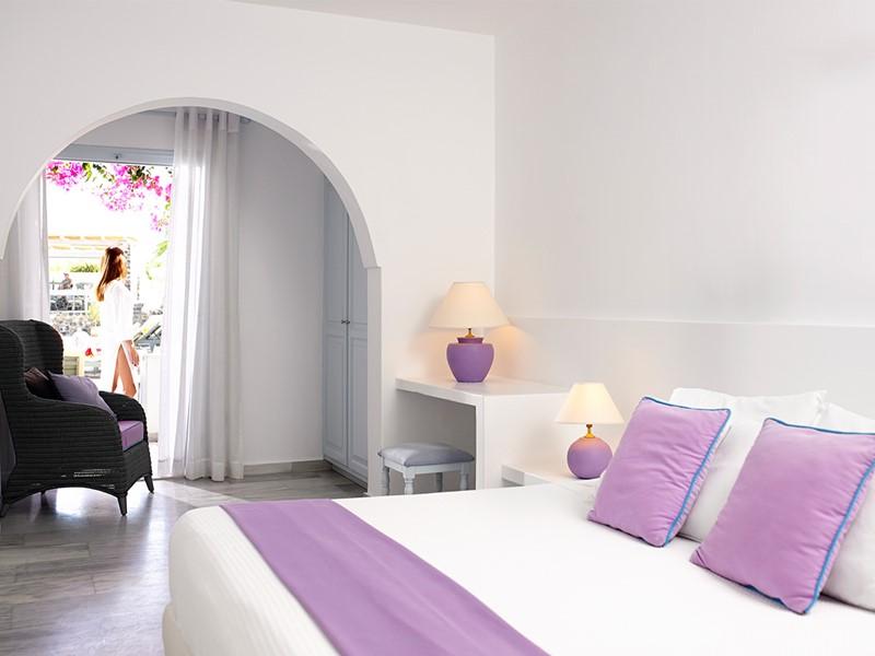 Chambre Supérieure du Santorini Kastelli Resort à Santorin