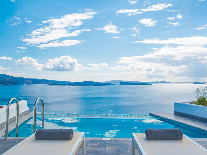 La piscine de la Grande Suite