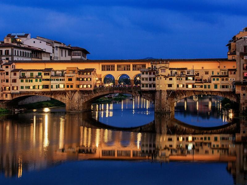 Vue du Ponte Vecchio