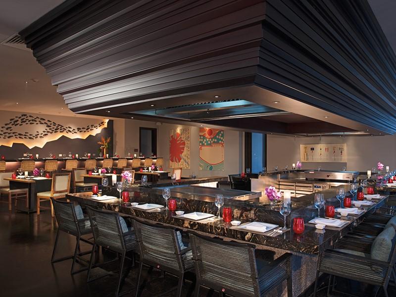 Délicieuse cuisine asiatique au restaurant Himitsu du Secrets Cap Cana