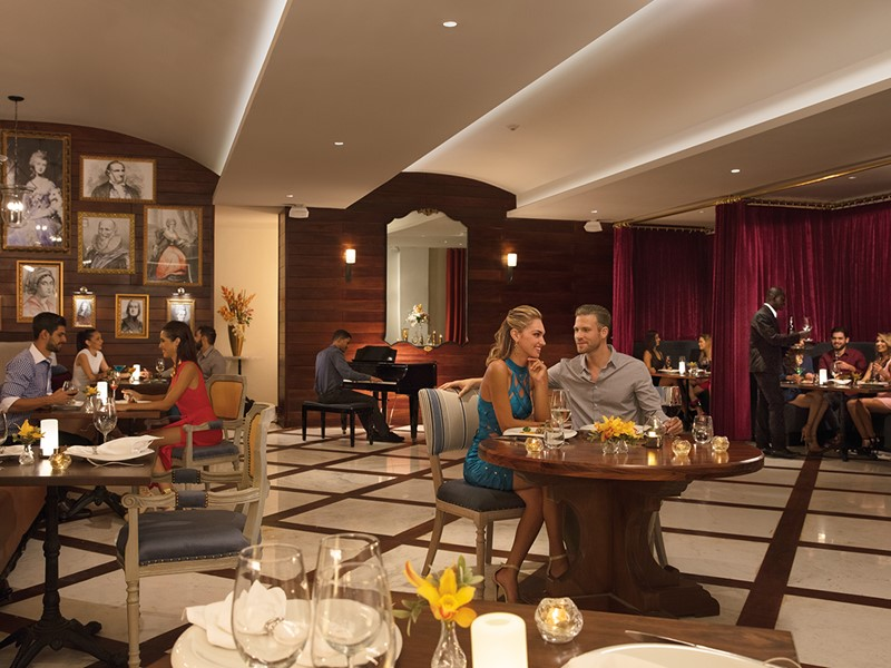 Le restaurant Bordeaux de l'hôtel Secrets Cap Cana