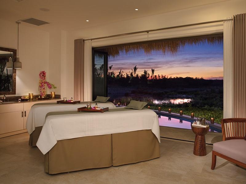 Le spa de l'hôtel 5 étoiles Secrets Cap Cana