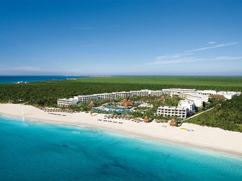 Vue aérienne du Secrets Maroma Beach Riviera Cancun