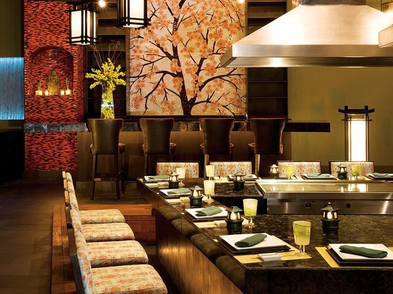 Himitsu Restaurant du Secrets Maroma à Puerto Morelos