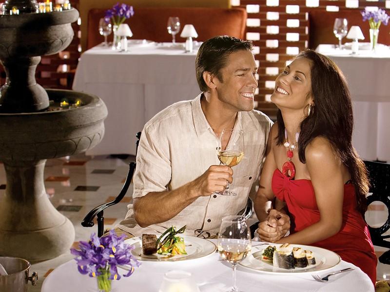Le restaurant Portofino de l'hôtel Secrets Maroma