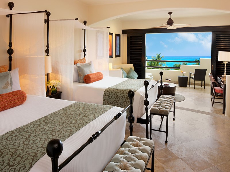 Junior Suite Ocean View du Secrets Maroma