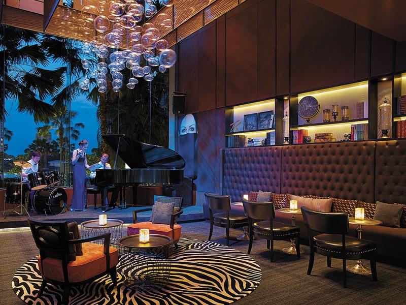 Ambiance détendue au Volti Lounge Bar