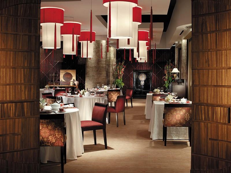 Le restaurant Shang Palace du Shangri-La Qaryat Al Beri