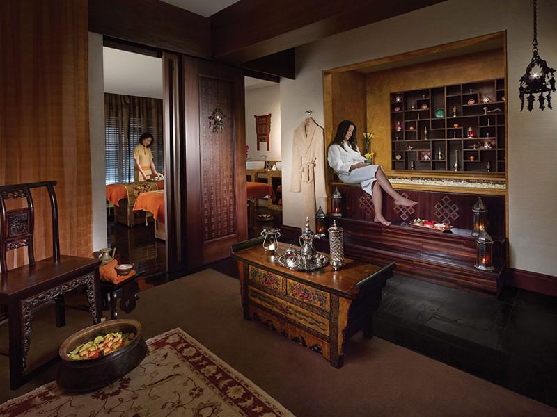 Le spa de l'hôtel 5 étoiles du Shangri-La Qaryat Al Beri