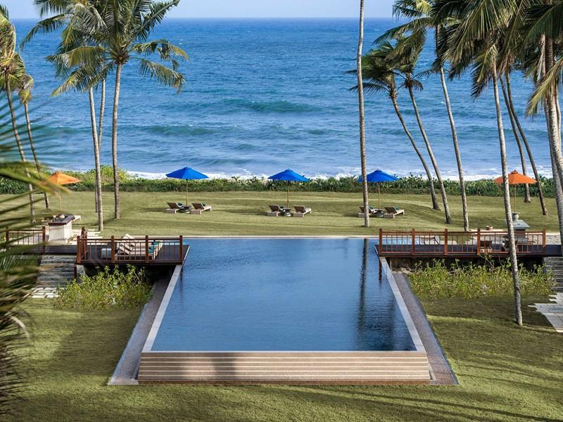 Autre piscine de l'hôtel Shangri-La's Hambantota