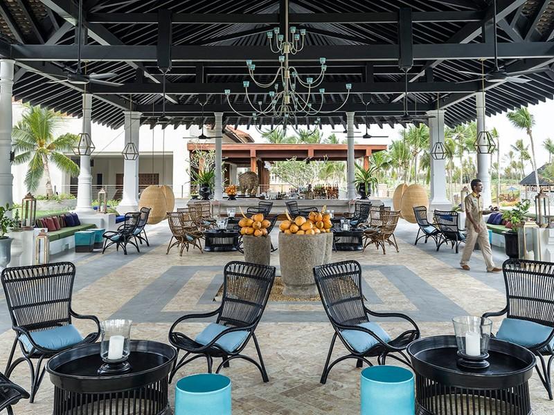 Autre vue du Gimanhala Bar de l'hôtel Shangri-La