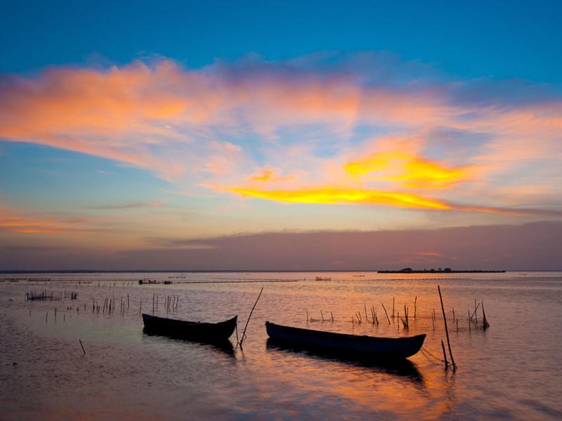 Coucher de soleil au Shangri-La's Hambantota à Yala