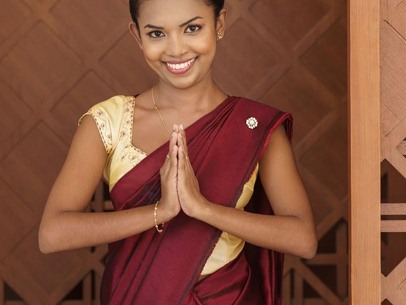 Un accueil chaleureux dès votre arrivée au Shangri-La's Hambantota