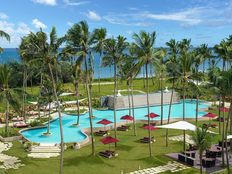 Piscine du Shangri-La's Hambantota au Sri Lanka
