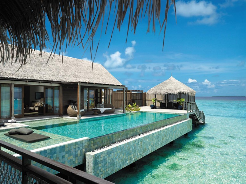 Villa Muthee du Shangri-La's Villingili aux Maldives