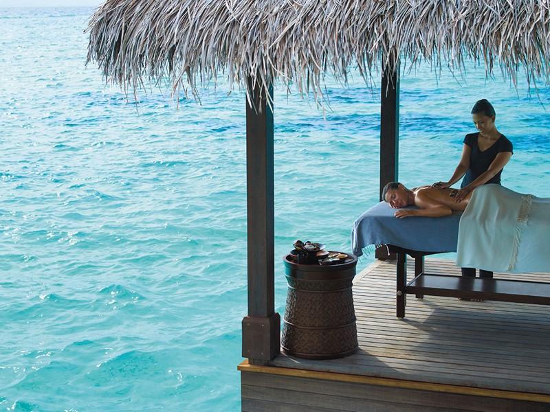 Spa de l'hôtel 5 étoiles Shangri-La's Villingili