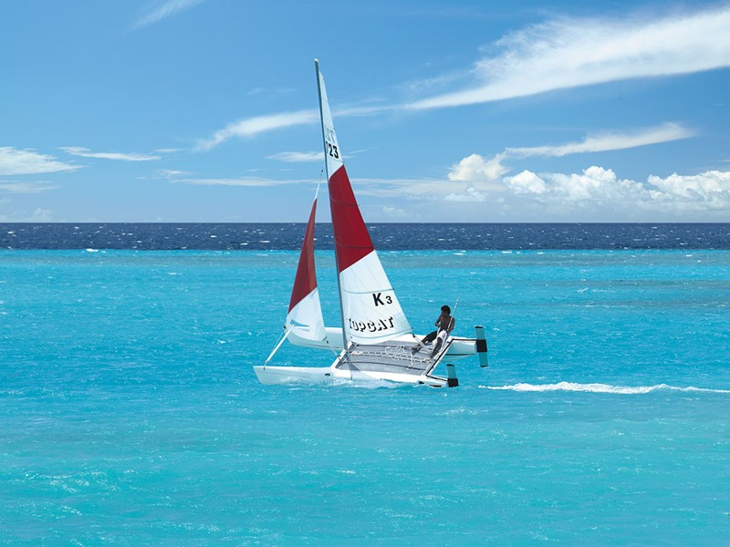 Activité nautique du Shangri-La's Villingili Resort