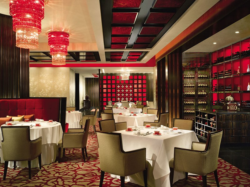 Le restaurant Shang Palace du Shangri-La Singapore