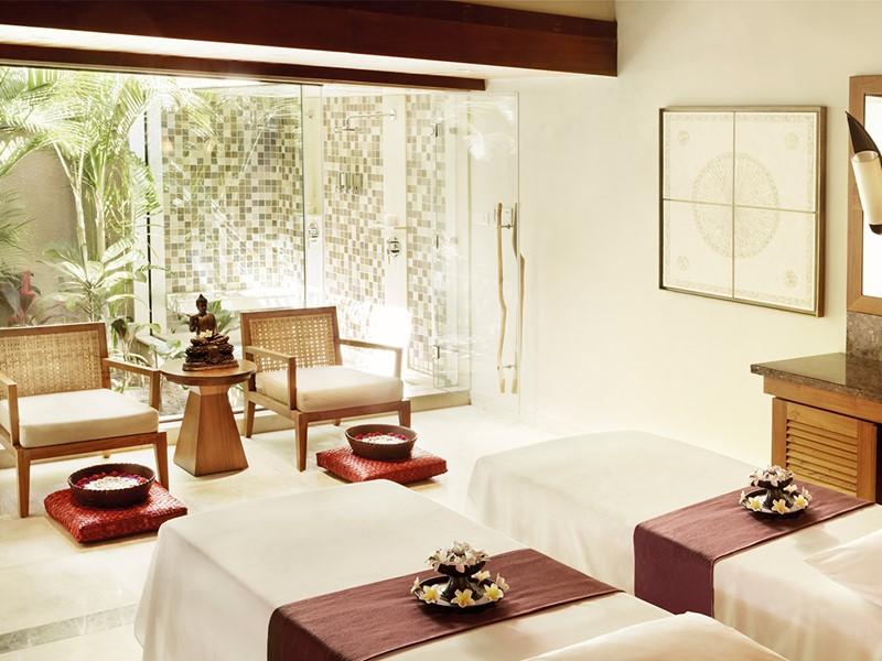 Le spa de l'hôtel 5 étoiles Shanti Maurice