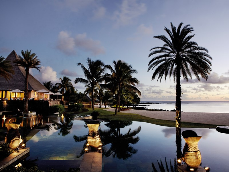Piscine du Shanti situé au Sud de l'Ile Maurice