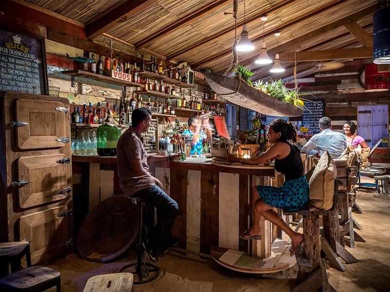 Bar de l'hôtel Shanti Maurice à l'Ile Maurice