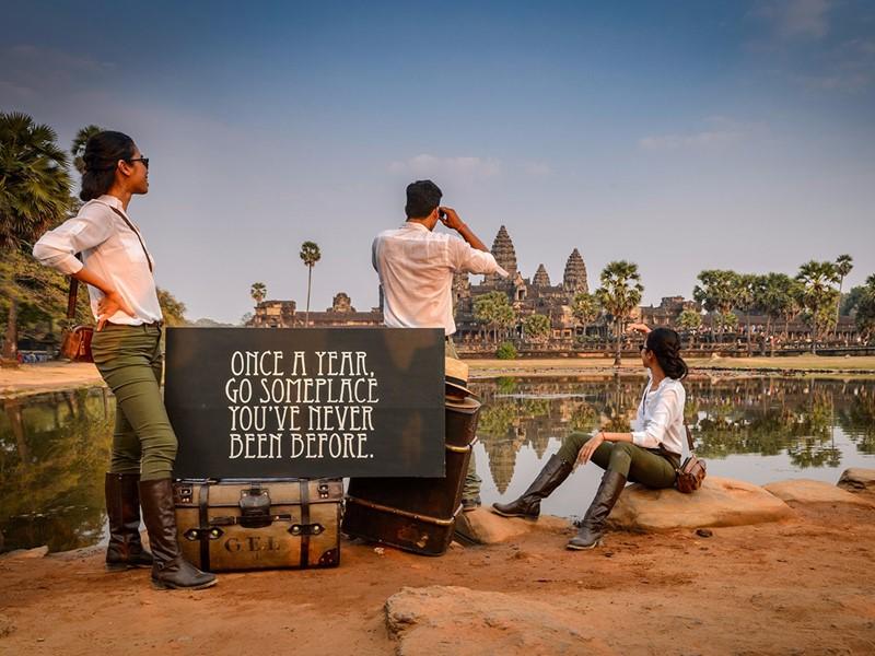 Découvrez les vestiges d'Angkor Wat durant votre séjour au Shinta Mani