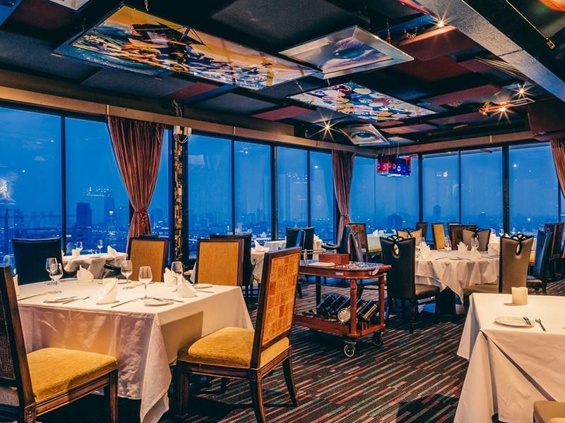 Gastronomie française au restaurant La Vue du Siam@Siam Design
