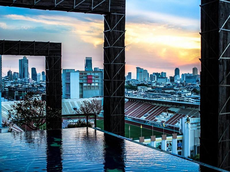 Profitez d'une vue spectaculaire sur Bangkok depuis le Siam@Siam Design