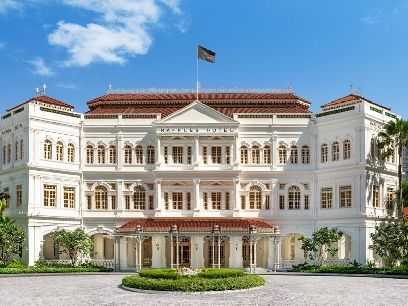 Séjournez au Raffles Singapour