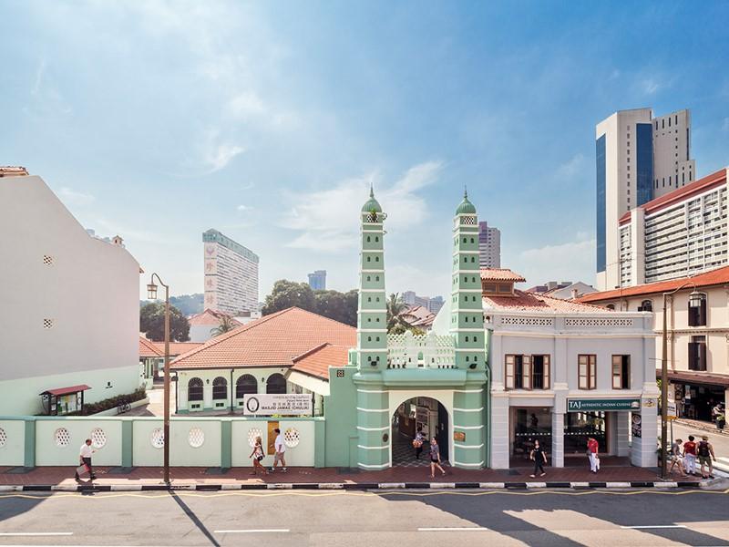 Rue typique de Singapour