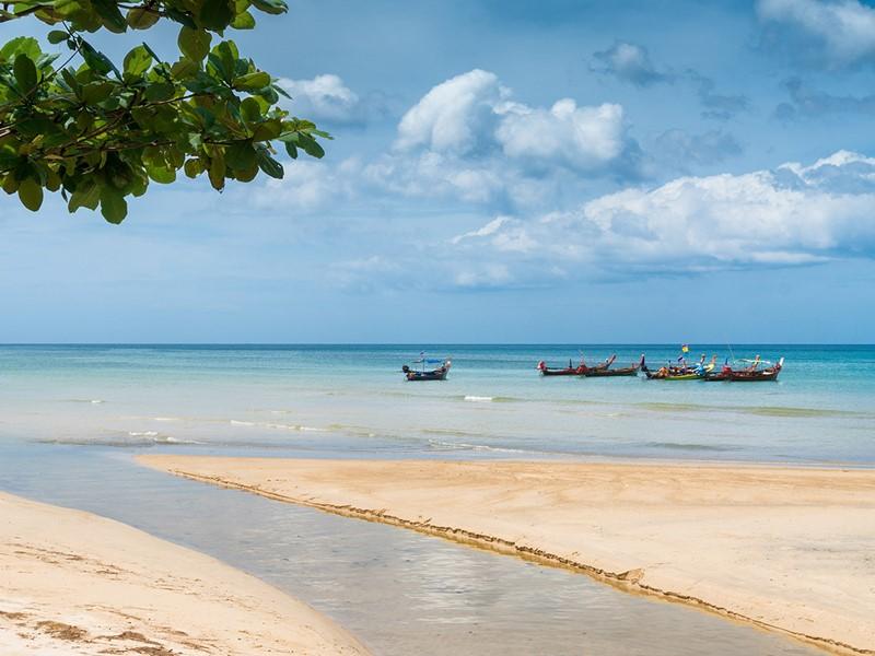 Phuket et ses plages de sable fin
