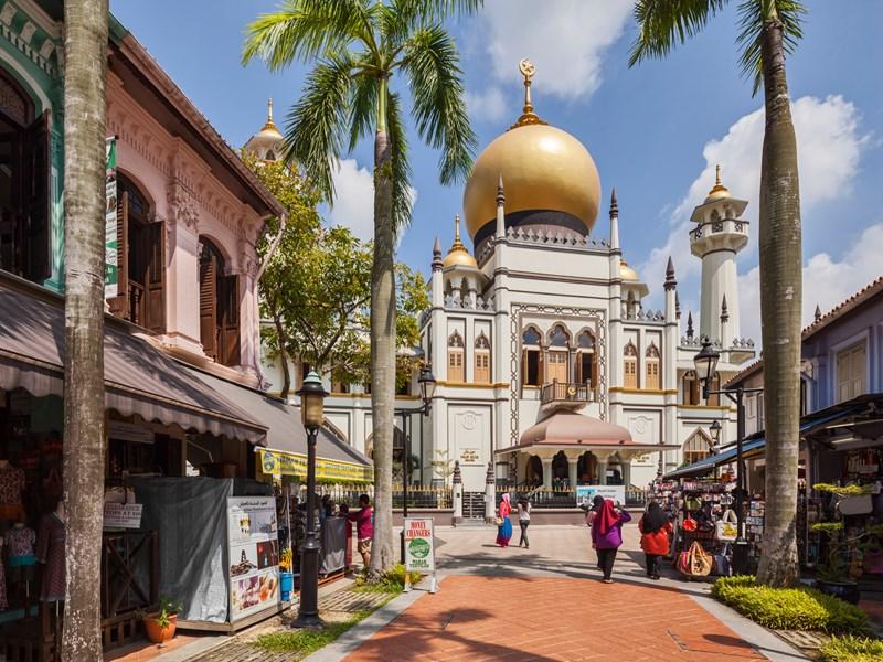 Kampong Glam & la célèbre mosquée Sultan