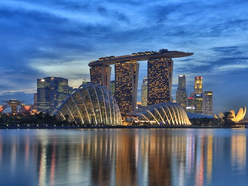 Découvrez l'incroyable architecture de Singapour