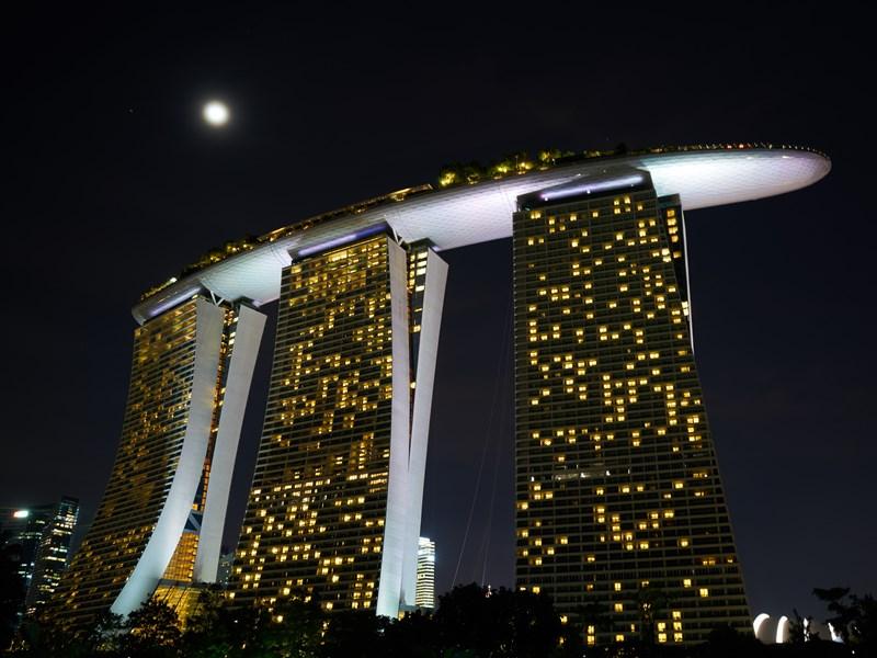 Montez au Sommet du célèbre Marina Bay Sands