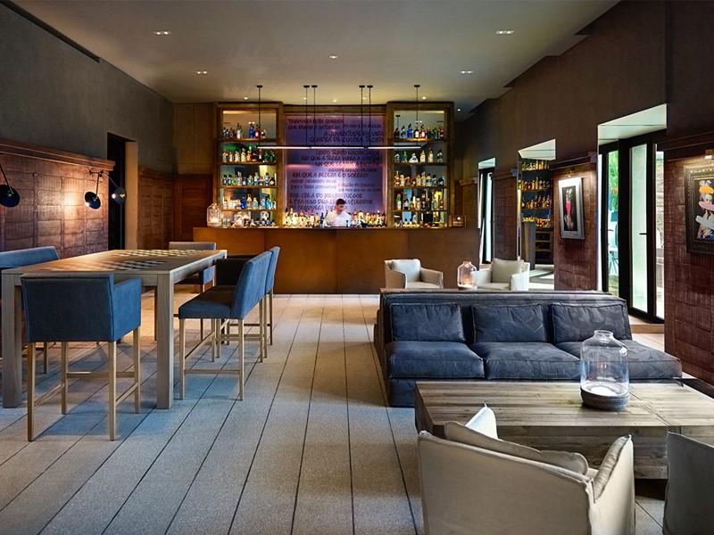 Quinta Bar de l'hôtel Six Senses au Portugal