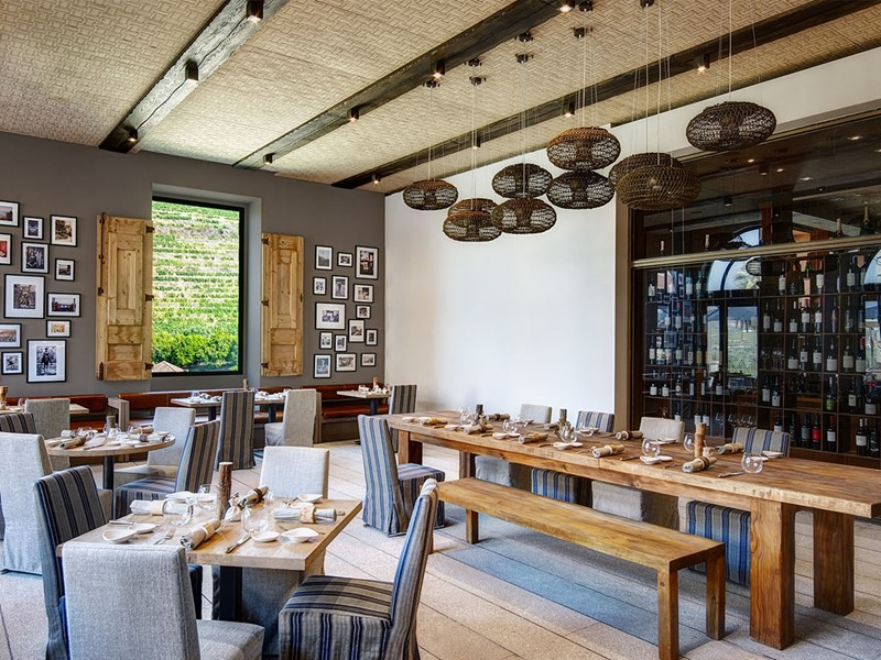 Restaurant Open Kitchen du Six Senses Douro Valley
