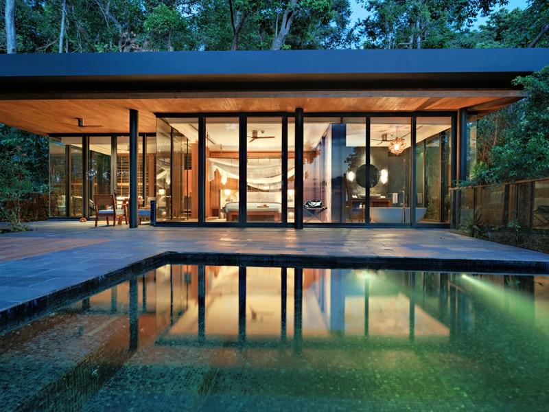 Ocean Pool Villa de l'hôtel Six Senses Krabey Island